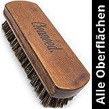 Premium lederen en textielborstel, extra zacht, eenvoudig onderhoud en reiniging, reinigingsborstel voor kussens, leer, alcan