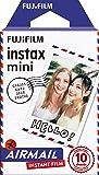 Fujifilm 70100139610 Instax Mini Air Mail Développement instantané Noir