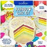Bakedin Bakedin 970g Rainbow Cake Baking Kit, Vanilla