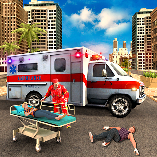 Ambulance Driving Simulator 2018 - Rescue Games