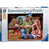 Ravensburger Knitters' Delight 500 piece Jigsaw Puzzle for Adults & for Kids Age 10 and Up