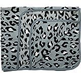 LL- Grey Tiger Print Blanket