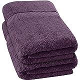 Utopia Towels - 2 Toallas de baño Grandes (90 x 180 cm, Ciruela)