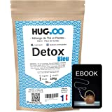 HUG.OO - Detox, Thé Vert Minceur, Citron Fleur de Sureau, Coupe Faim, Perte de poids Rapide Puissant, Efficace, Maigrir, Femm