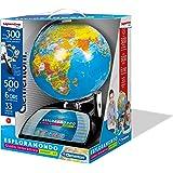 Clementoni - 11992 - Sapientino - Esploramondo Connect 2.0, globo interattivo, mappamondo con penna interattiva, gioco educat