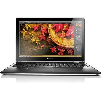 Lenovo Yoga 500 39,6 cm (15,6 Zoll Full HD IPS Matt) Convertible Laptop (Intel Pentium 3805U, 1,9GHz, 4GB RAM, 128GB SSD, Intel HD Grafik, Touchscreen, Windows 8.1) weiß