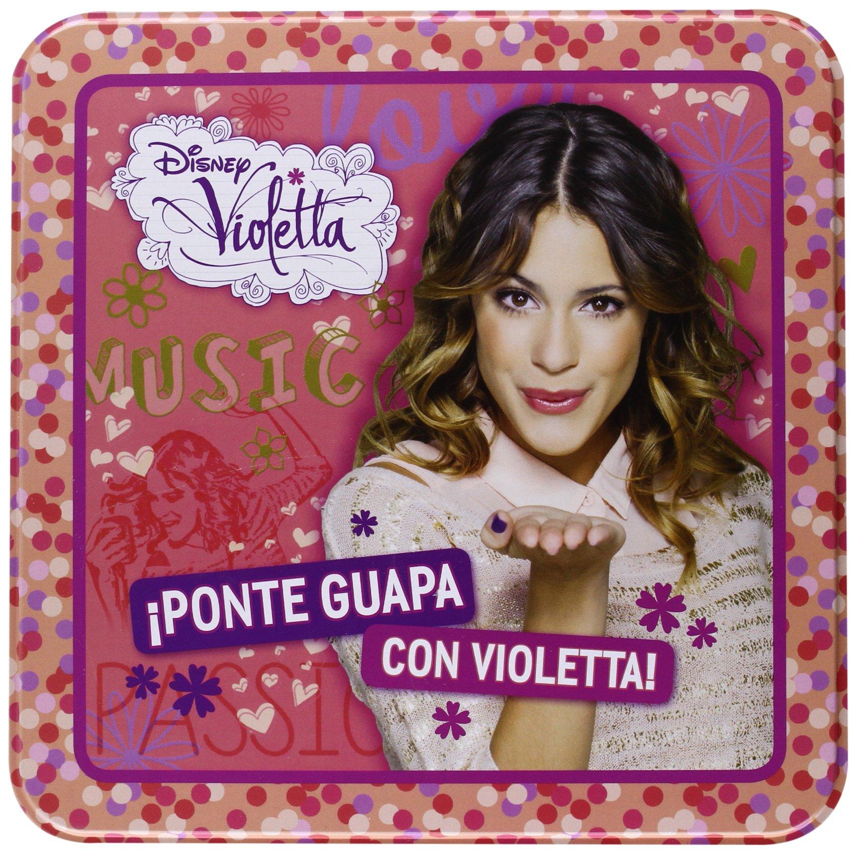 Estuche Lata Violetta. ¡Ponte Guapa Con Violetta! (Libros singulares)
