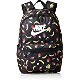 Nike Unisex-Adult Backpack, Black/White - NKCU2586-10