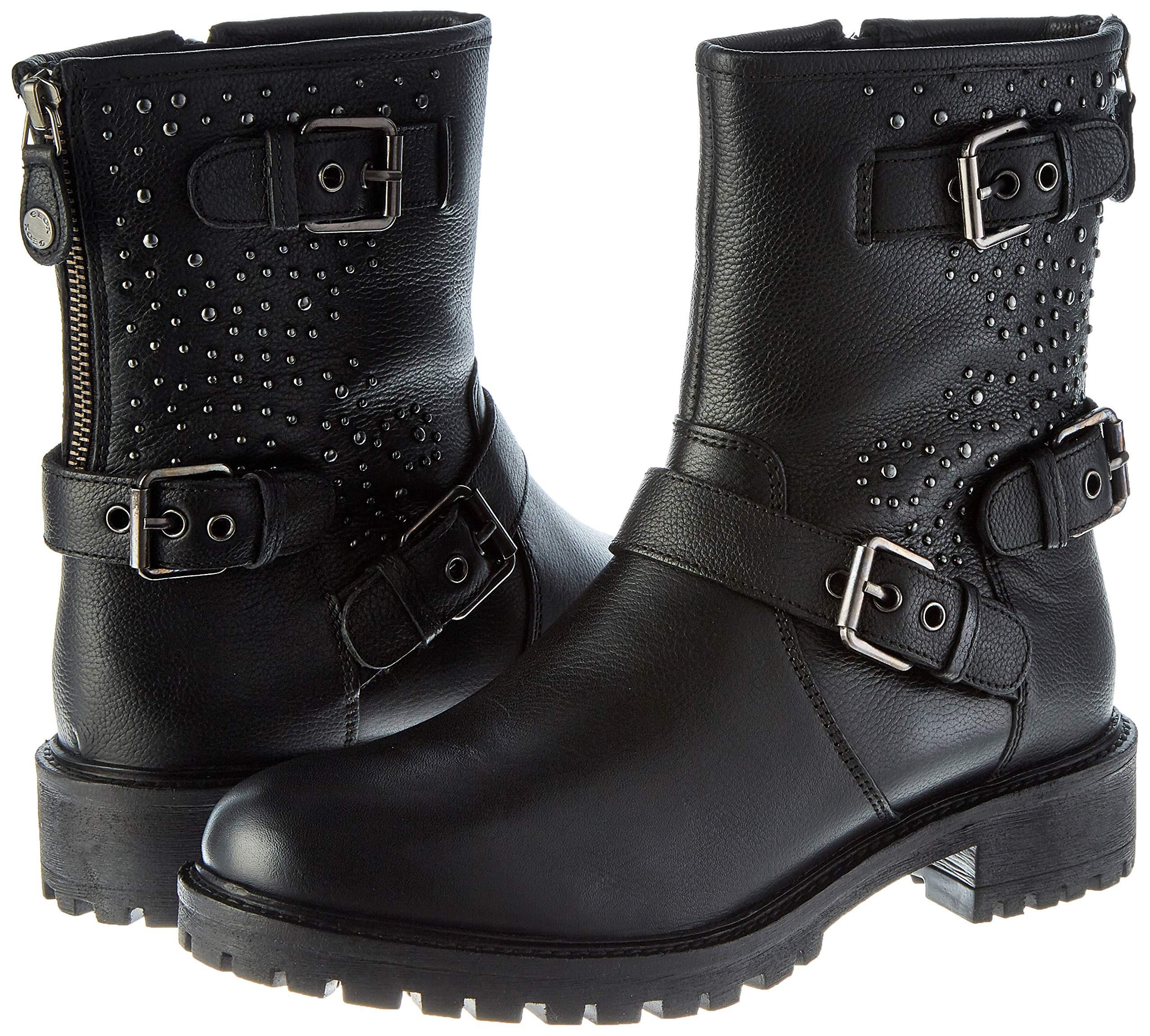 Geox Damen D Hoara C Biker Boots 5