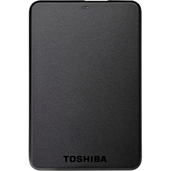 "Toshiba StorE Basics (HDTB110EK3BA) - Disco duro externo de 1 TB (USB 3.0, 2.5""), negro"