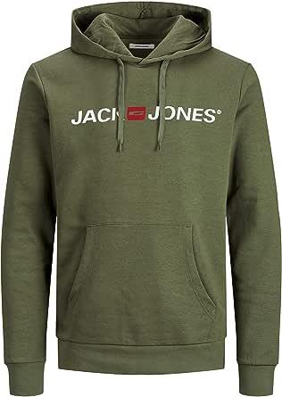 Jack & Jones Men's Jjecorp Logo Sweat Hood Noos Hoodie