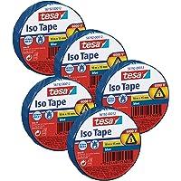 Tesa Isolierband 10m x 15mm (5 Rollen/Blau)