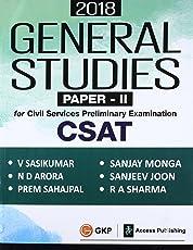 General Studies Paper II (CSAT) for Civil Services Preliminary Examination 2018