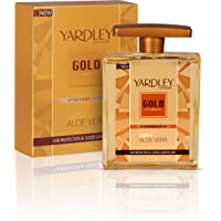 Yardley Gold After Shave Lotion with Aloe Vera, 100ml