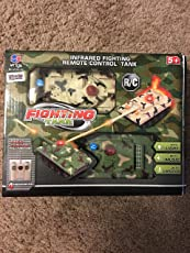 Deluxe RC Fighting Battle Tanks - Set of 2 Infrared Remote Control Battling Tanks