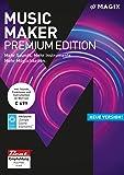 MAGIX Music Maker ? 2018 Premium Edition ? Die Audiosoftware mit mehr Sounds, Instrumenten und M�glichkeiten  medium image