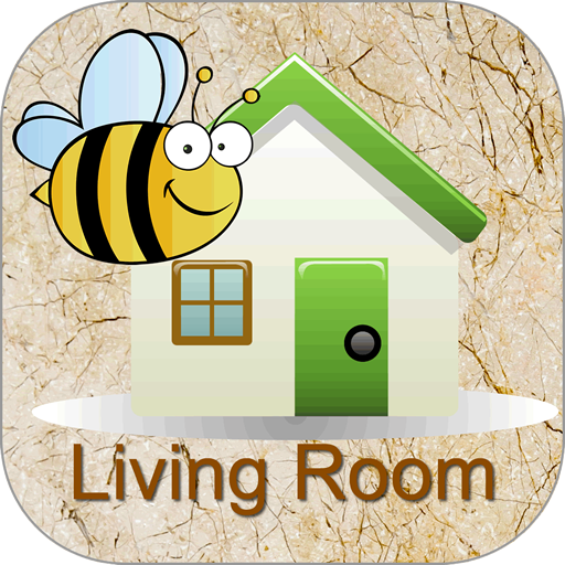 Words Around the HouseTM  - Living Room - Video Flashcard Player