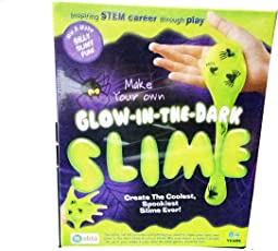 Art Box Latest Glow in Dark Yucky Slime Making kit for Kids, Learn How to Make Your Favourite Slime in House.