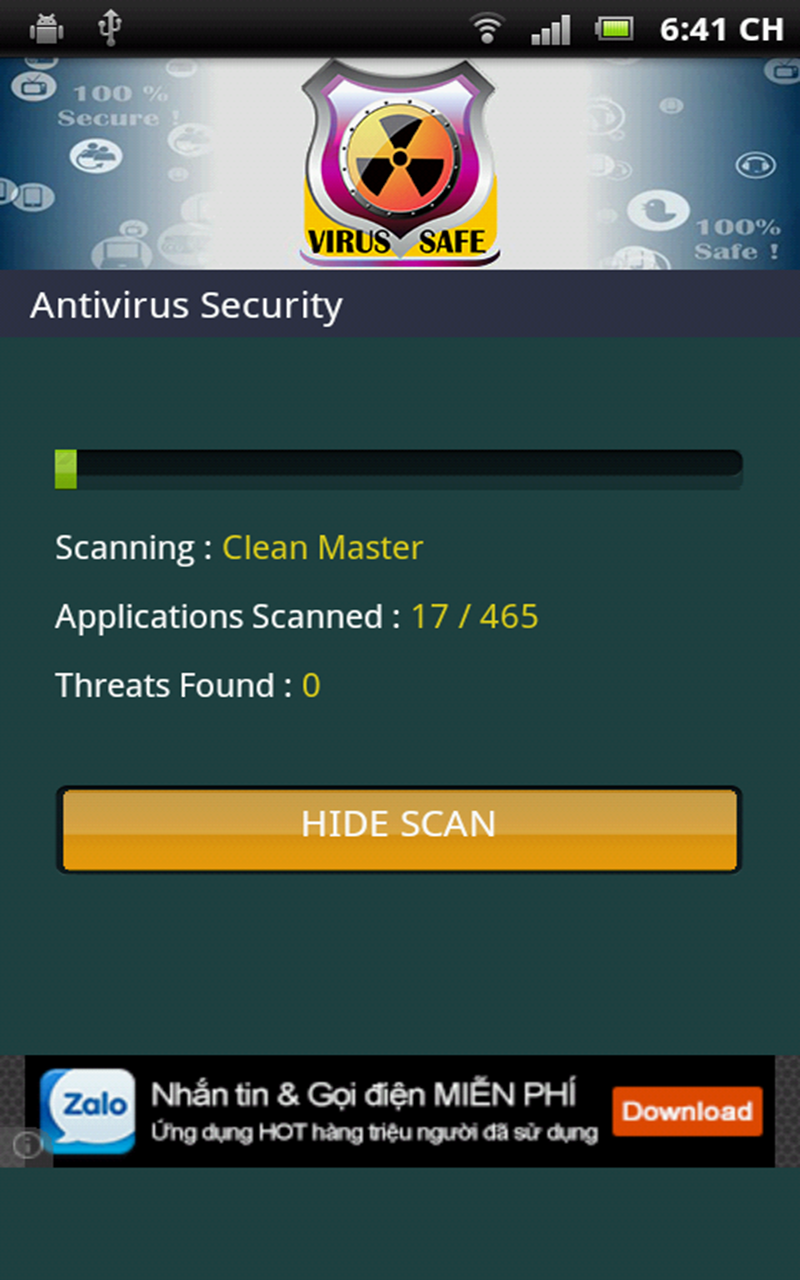 Virus Scan Antivirus Amazon Co Uk Appstore For Android