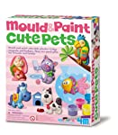 4M Mould and Paint Cute Pets Arts and Crafts Toy [00-03539]
