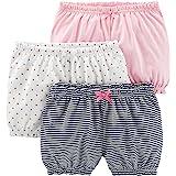 Simple Joys by Carter's Paquete de 3 pantalones cortos para bebé