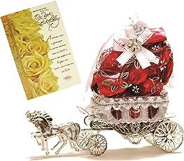 Skylofts Beautiful Horse Chocolate with Birthday Card