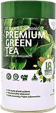 18 Herbs Organics Premium Green Tea-50 Tea Bags