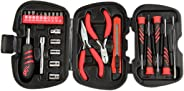 Skil 25 Piece Mini Hand Tool Set (Red and Black
