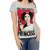 Star Wars - Maglietta a maniche corta da donna - Principessa Leia