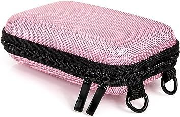 Baxxtar Hardcase PURE S Kameratasche mit Schultergurt und Gürtelschlaufe (passend zu: Siehe Produktmerkmale) (pink)