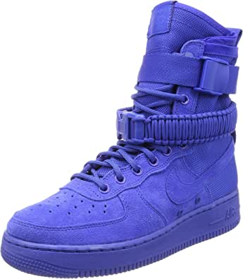 nike sf air force 1 bleu