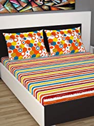Divine Casa Double Bedsheet New Collection Spring Summer 144 TC