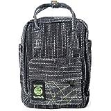 حقيبة ظهر صغيرة من Dime Bags Hot Box | حقيبة ظهر صغيرة متعددة الجيوب مصنوعة من مواد القنب الفاخرة والمواد المعاد تدويرها | حق