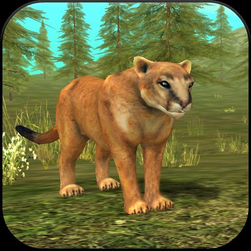 Wild Cougar Sim 3D -