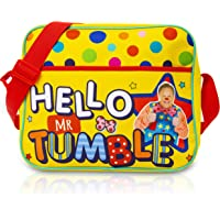 Mr Tumble Spotty Bag | Large Hello Mr Tumble Bag for School Or Travel | Gift for Kids Toddlers 3 4 5 6 Year Old +