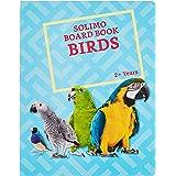 Amazon Brand - Solimo Long Board Book, Birds