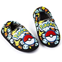 Pokemon Pantofole Pikachu Bambini, Ciabatte Unisex Ragazzi Ragazze Invernali, Pantofole Carine Fodera di Pile Morbido…