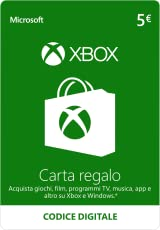 Xbox Live - 5 EUR Carta Regalo (Codice Digital) [PC Code - Kein DRM]