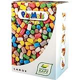 PlayMais Basic Large Kit Costruzioni per Bambini da 3 Anni | 700 Pezzi | Giocattolo Naturale | stimola creatività e capacità