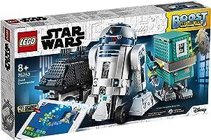 LEGO Star Wars- Boost Comandante Droide 75253, Juguete de construcción con 3 robots controlados por App, incluye a R2-D2...