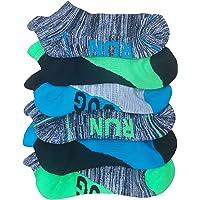 6 x Kids Children Boy Trainer Socks with Cushion Heal Toe Sport