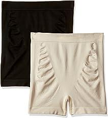 Marks & Spencer Women's Plain/Solid Waist Shaper (Pack of 2)