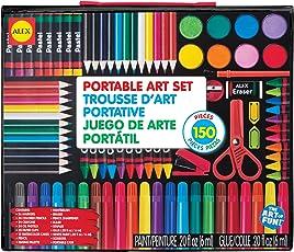 Alex Toys Artist Studio Portable Art Set with Carrying Case, Multi Color
