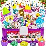 LETOMY Kit de Slime, DIY Slime Set, Slime Kit, Original Stationery Slime con Activador de Arcilla, Slime para Niñas Edulcoran