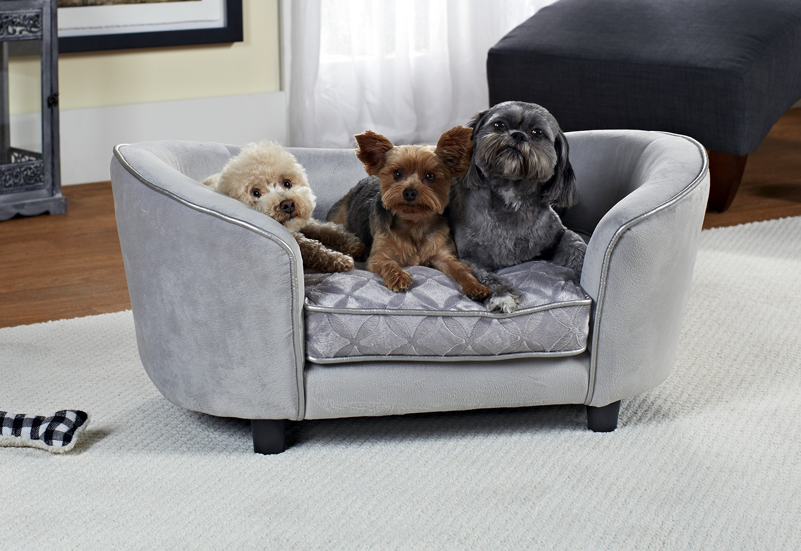 Dog Sofa – dog bed cuddle dream with storage bag and washable pillowcase