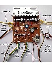 NextGeek™ 100W Stereo 4440 IC Amplifier Board Circuit Kit