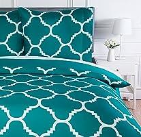AmazonBasics  Parure de lit avec housse de couette en microfibre