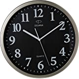 Dojana Wall Clock, DWG291-gold-white