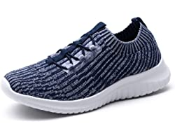 TIOSEBON Womens Trainers Lightweight Walking Running Shoes - Casual Mesh Breathable Sneakers