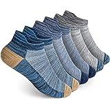Vkele Calcetines deportivos mujeres y hombres 4-6 pares de algodón multicolor tamaño: 35-49